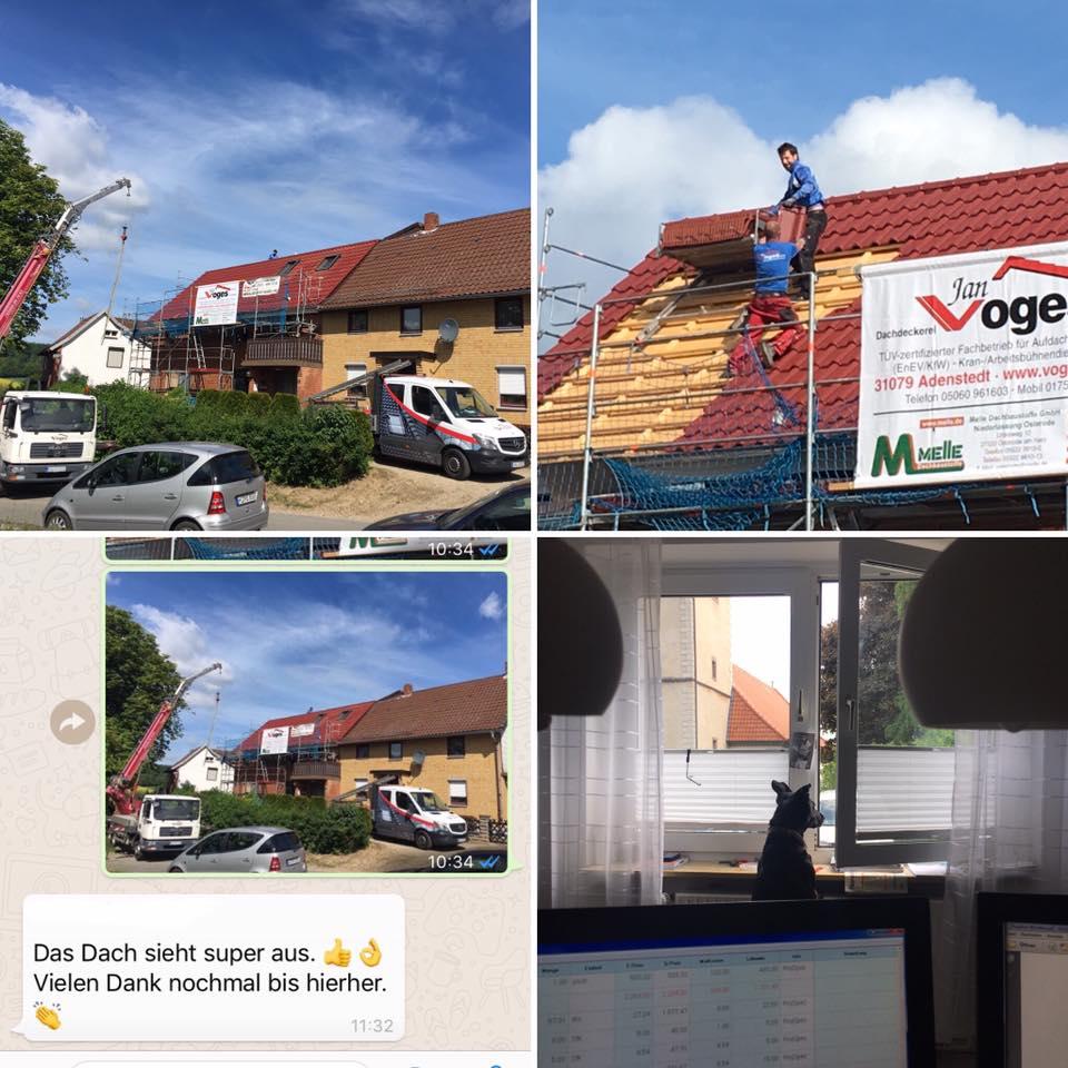 Dachdeckerarbeiten und Fassadensanierung in Hildesheim / Hannover
