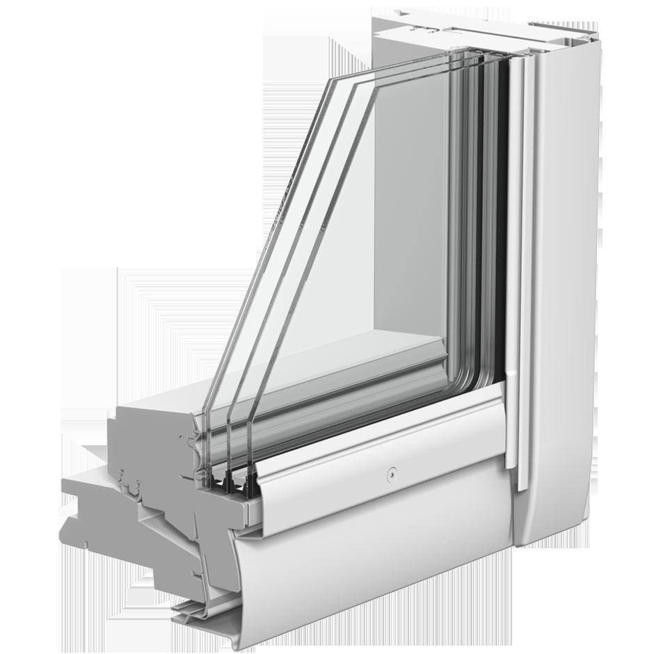 3 fach Verglasung Dachfenster